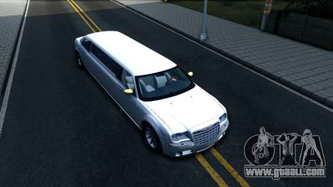 Chrysler 300C Limo 2007 IVF for GTA San Andreas right view
