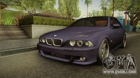 BMW M5 E39 Stock 2001 for GTA San Andreas