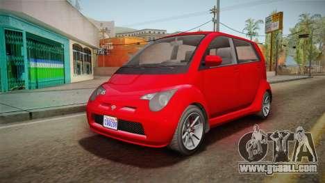 GTA 5 Benefactor Panto 4-doors for GTA San Andreas