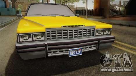GTA 5 Albany Emperor Custom for GTA San Andreas right view