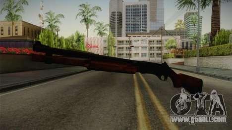 Remington 870 Wood for GTA San Andreas second screenshot