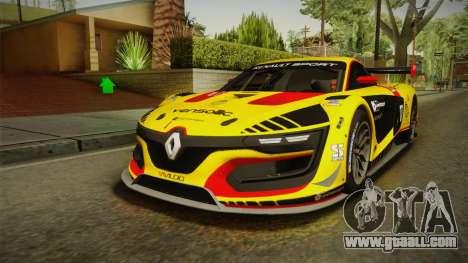 Renault Sport R.S.01 PJ3 for GTA San Andreas interior