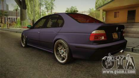 BMW M5 E39 Stock 2001 for GTA San Andreas left view