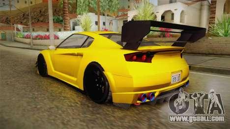 GTA 5 Annis Elegy RH8 Custom for GTA San Andreas left view