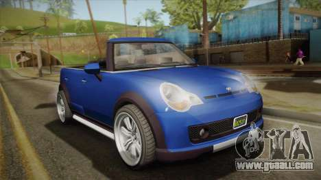 GTA 5 Weeny Issi Countryboy Cabriolet for GTA San Andreas