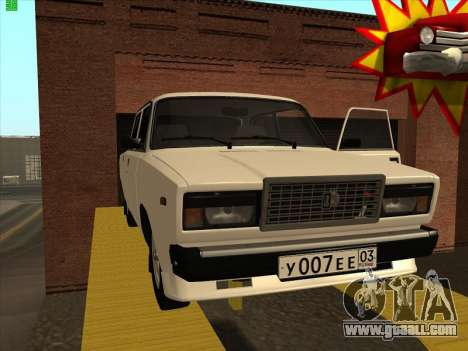 2107 for GTA San Andreas right view