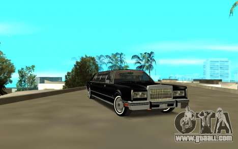 Lincoln 1988 for GTA San Andreas