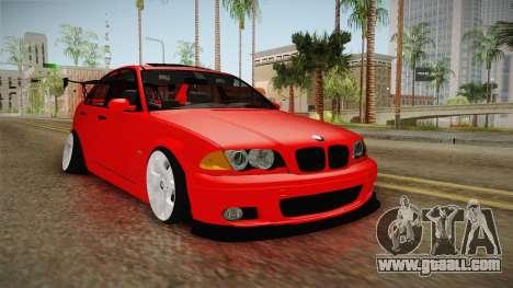 BMW 3 Series E46 CamberKinG for GTA San Andreas