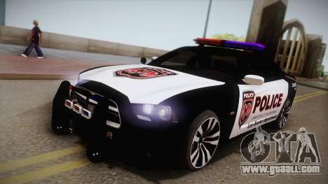Dodge Charger SRT8 Police 2012 for GTA San Andreas