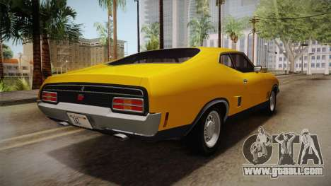 Ford Falcon 351 GT AU-spec (XB) 1973 HQLM for GTA San Andreas left view