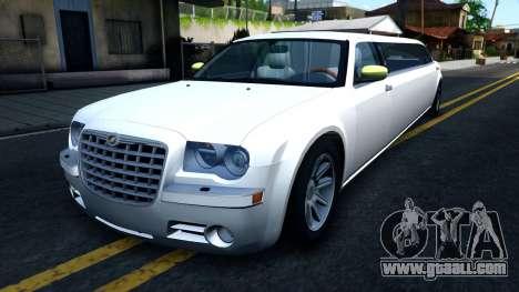 Chrysler 300C Limo 2007 IVF for GTA San Andreas