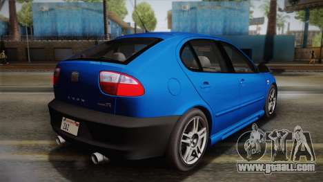 Seat Leon Cupra R Series And Typ 1M Tunable for GTA San Andreas