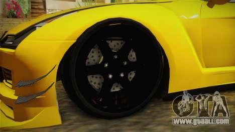 GTA 5 Annis Elegy RH8 Custom for GTA San Andreas back view