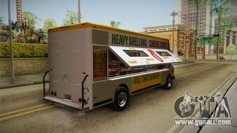 GTA 5 Brute Taco Van for GTA San Andreas left view