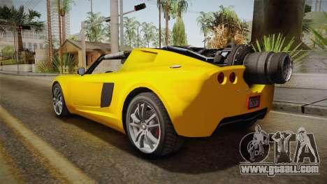 GTA 5 Coil Rocket Voltic for GTA San Andreas left view