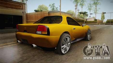 Driver: PL - MX2000 Drift Version for GTA San Andreas left view