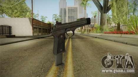 Battlefield 4 - M9 for GTA San Andreas second screenshot