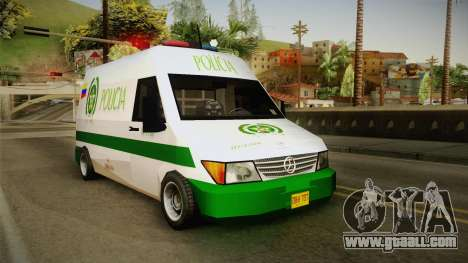 Mercedes-Benz Sprinter SA Style for GTA San Andreas