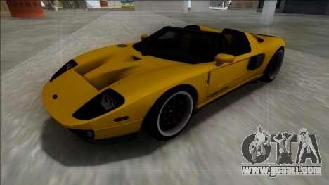 Ford GTX1 for GTA San Andreas
