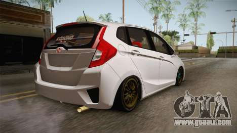 Honda Jazz GK 2014 for GTA San Andreas left view