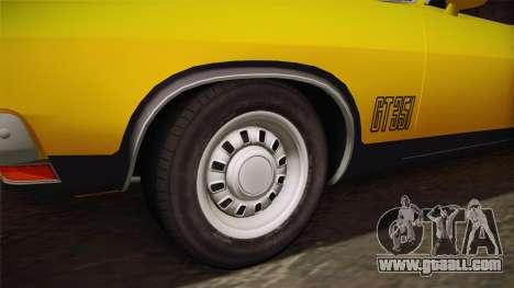 Ford Falcon 351 GT AU-spec (XB) 1973 HQLM for GTA San Andreas back view
