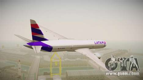 Boeing 787 LATAM for GTA San Andreas right view