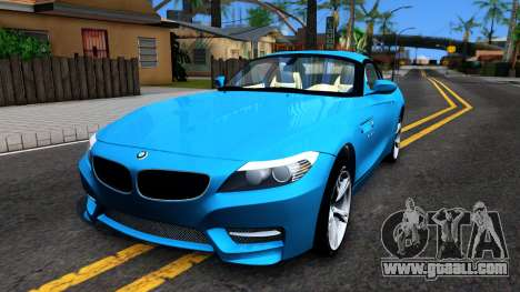 BMW Z4 for GTA San Andreas