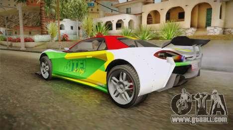 GTA 5 Progen Itali GTB Custom IVF for GTA San Andreas bottom view