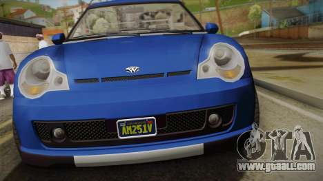 GTA 5 Weeny Issi Countryboy Cabriolet for GTA San Andreas right view