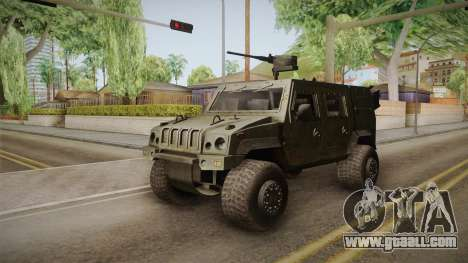 Iveco Lince LMV for GTA San Andreas right view