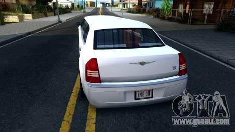 Chrysler 300C Limo 2007 IVF for GTA San Andreas back left view