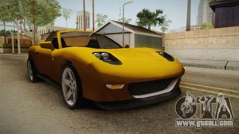 Driver: PL - MX2000 Cabrio for GTA San Andreas