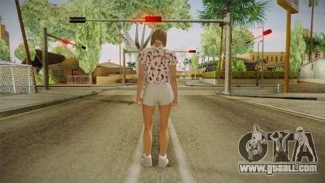 Import-Export DLC Skin Female for GTA San Andreas third screenshot
