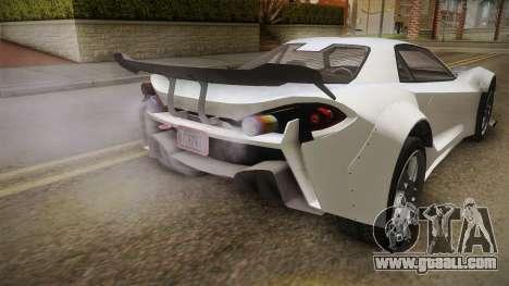 GTA 5 Progen Itali GTB Custom IVF for GTA San Andreas side view