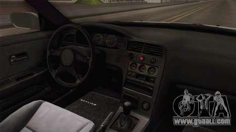 Nissan Skyline GTS25-t Mk.IX R33 Paintjob for GTA San Andreas inner view