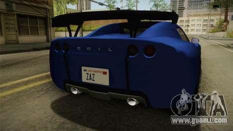 GTA 5 Voltic for GTA San Andreas upper view