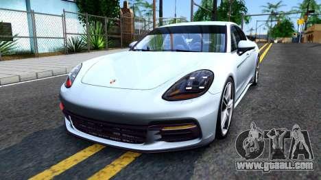 Porsche Panamera 4S 2017 v 1.0 for GTA San Andreas