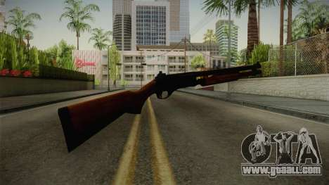Remington 870 Wood for GTA San Andreas third screenshot