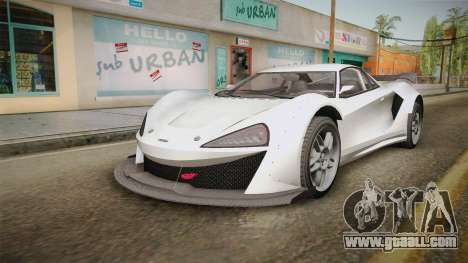 GTA 5 Progen Itali GTB Custom IVF for GTA San Andreas back left view