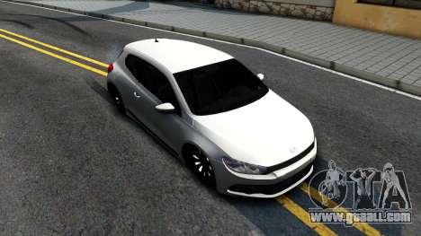 Volkswagen Scirocco for GTA San Andreas right view