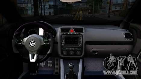 Volkswagen Scirocco for GTA San Andreas inner view