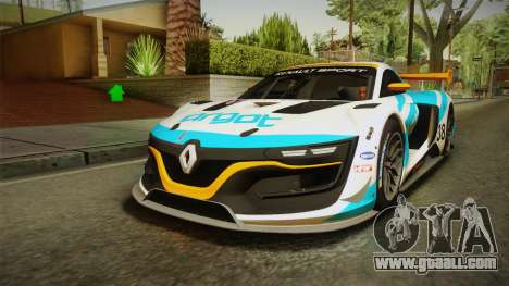 Renault Sport R.S.01 PJ3 for GTA San Andreas upper view