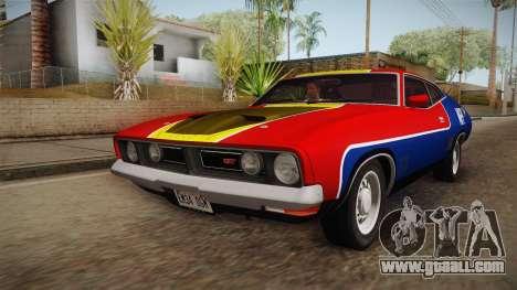 Ford Falcon 351 GT AU-spec (XB) 1973 HQLM for GTA San Andreas engine