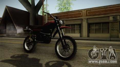 GTA 5 Dinka Enduro for GTA San Andreas right view