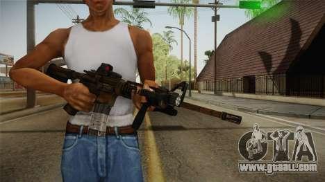 Tactical M4 for GTA San Andreas