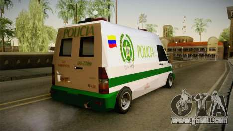 Mercedes-Benz Sprinter SA Style for GTA San Andreas left view