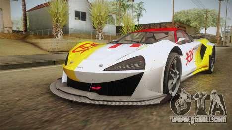 GTA 5 Progen Itali GTB Custom IVF for GTA San Andreas interior