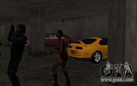 Illegal Boxing tournament V2.0 for GTA San Andreas sixth screenshot