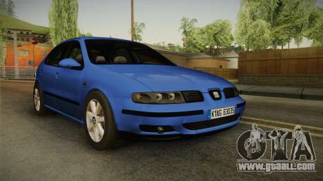 Seat Leon 1.9 TDI for GTA San Andreas
