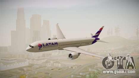 Boeing 787 LATAM for GTA San Andreas